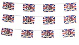Royal Wedding Party Bunting Harry & Meghan Banner Decoration Accessory PVC X3
