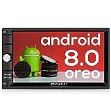 Pumpkin Android 8.0 Autoradio GPS 2 Din Ecran 7 Pouce ROM: 32 Go supporte Bluetooth...