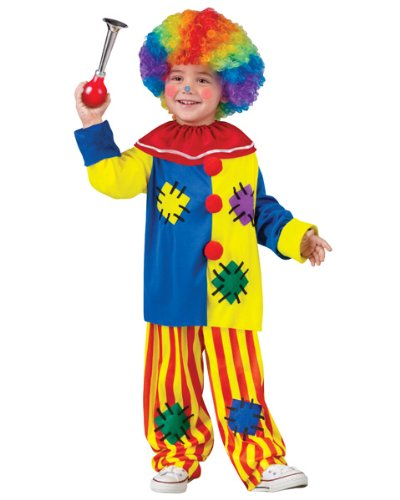 Toddler Big Top Clown Fancy Dress Costume Small -