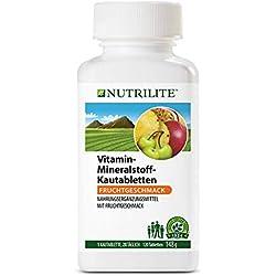 Nutrilite Vitamin-/Mineralstoff - Kautabletten - 120 Stück 148g Amway