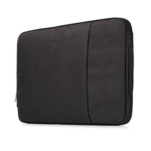 Sweet Tech Schwarz Tasche Schutzhülle Sleeve Case Wasserdicht Schock-beständiger mit Zubehörfach Laptoptasche für ASUS VivoBook S14 S430 14 Zoll (13-14 Zoll)