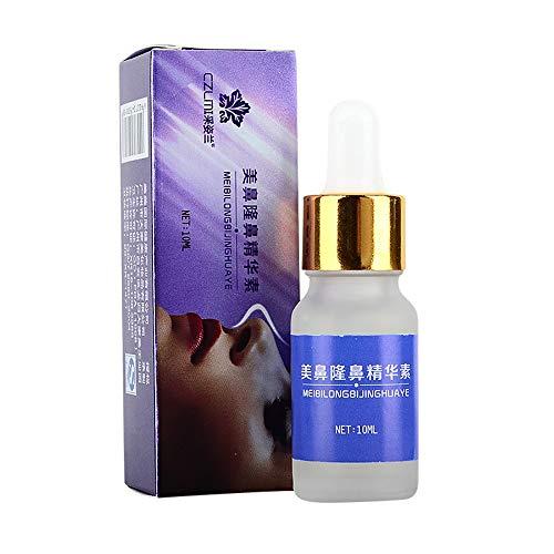 MA87 Nasenkorrektur-Nasenkorrektur-Essenz zur Verbesserung der nasalen Schönheitspflege 10 ml - Aloe-gesichts-reinigungs-pads