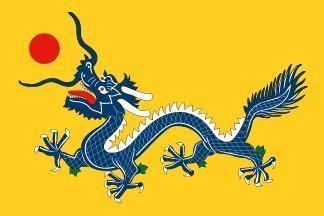 Imperial China Dragon 5 X3'Flagge