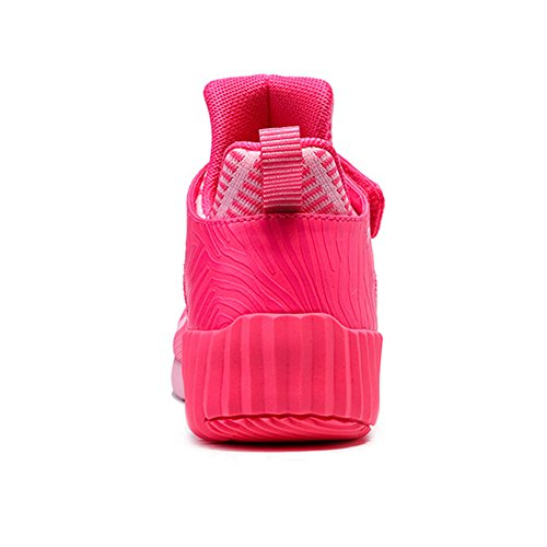 ONEMIX Air Scarpe da Ginnastica Corsa Basse Uomo donna Sportive Running Sneaker Pink