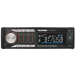 Telefunken T 645 Autoradio CD/MP3/WMA Fonction RDS SD/MMC / USB / Aux Fonction mains libres Bluetooth Interface de commande au volant (Import Allemagne)