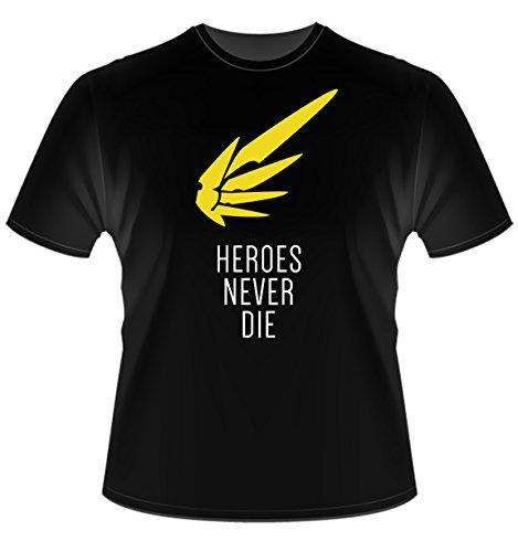 Tora Store Overwatch - Mercy T-Shirt - Unisex - Größen S-XL (Extra-Large) -