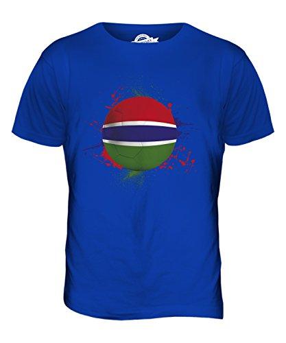 CandyMix Gambia Fußball Herren T Shirt Königsblau