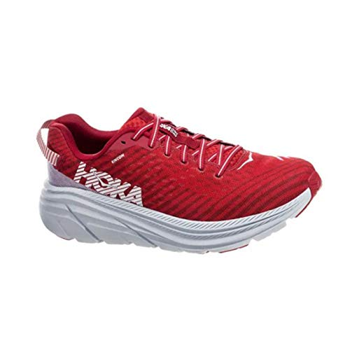 HOKA ONE ONE Rincon Scarpe Sport Uomini Rosso/Bianco - 47 1/3 - Running/Trail