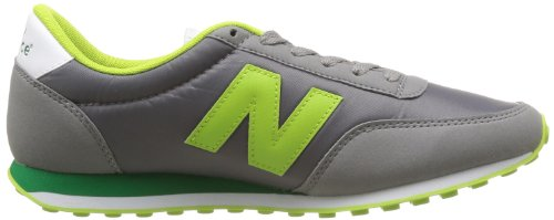 New Balance U410 D 14e, Unisex-Erwachsene Hohe Sneakers Grau - Gris (Grey/Green (034))