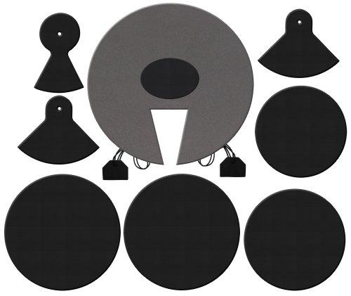 XDrum DMUTE-STA Schlagzeug-Dämpferset Pro Standard für Kesselgrößen: 12' | 13' | 14' | 16' | 22'