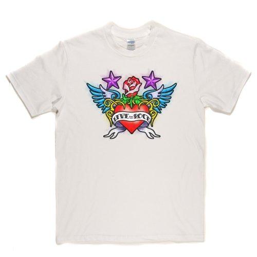 Live To Rock Music Genre Metal Clothing T-shirt Weiß