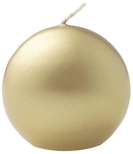 Kugelkerze gold  70 mm