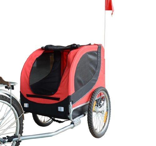 PawHut Fahrradanhänger Hundeanhänger Hunde Fahrrad Tier Anhänger...