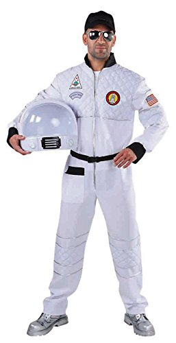 M215205-XXL weiß Herren Astronauten Overall ()