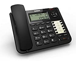 Uniden AT 8502 2 Line Corded Landline Speaker Phone