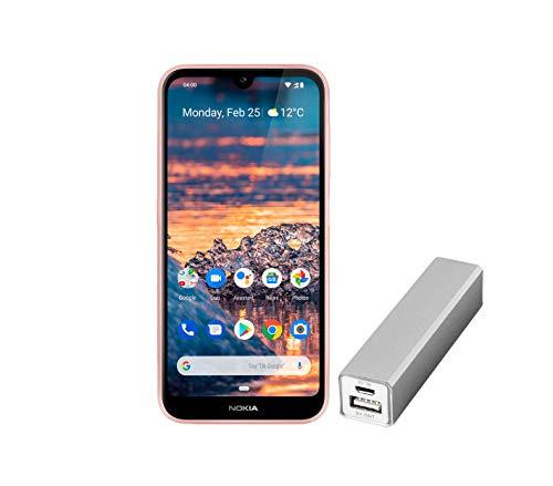 Nokia 4.2 Dual SIM - Smartphone (14,5 cm (5,71 Pulgadas), cámara Principal de 13 MP, 3 GB de RAM, 32 GB de Memoria Interna, Android 9 Pie), Color Rosa
