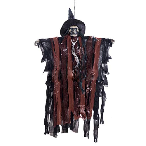 Haunted Kostüm Geist - FloralLive Vivid Horror Scary Hanging Geist-Halloween-Party-Augen Horror Sounds Ferien Haunted House Bar Hängeschmuck