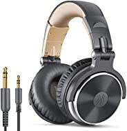 OneOdio Over Ear Headphone, Wired Bass Headsets with 50mm Driver, Foldable Lightweight Headphones with Sharepo