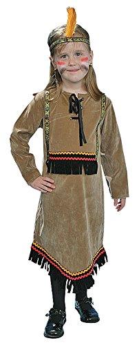 dress up America Deluxe indischen Kostüm Set (Dress Up Gril)