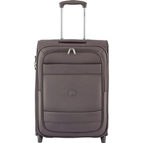 delsey-paris-indiscrete-cabine-slim-bagage-55-cm-44-l-marron-glace