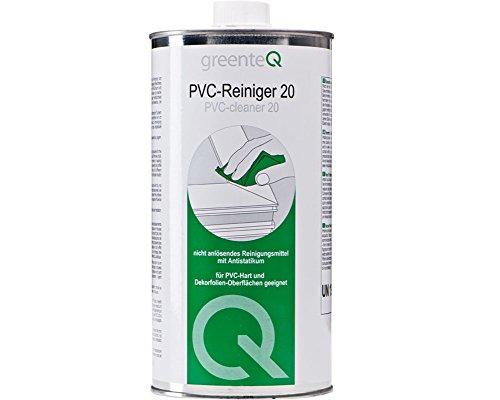 1 Liter greenteQ PVC Reiniger 20 Kunststoffreiniger Fenster Reinigungsmittel