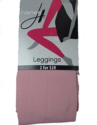 Damen Leggings Footless Tights (Medium, Pink) -