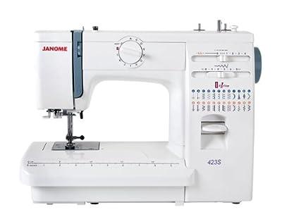 Janome - Máquina de coser 423S mecánica de Janome