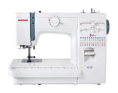 Janome - Máquina de coser 423S mecánica