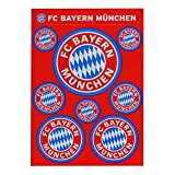 FC Bayern Aufkleber Set Logo