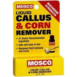 Mosco Special Pack Of 5 Pb18305 Mosco Liquid Callus & Corn Remover: 0.3 Oz