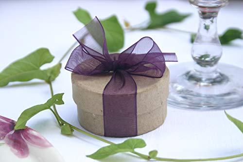 Die Seedball-Manufaktur aubergine Überraschungs-Seedball Natur mit auberginefarbener Schleife (Bezahlung Für Artikel In Den Warenkorb)
