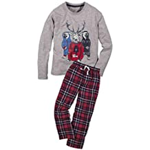 c0afdba8ec Jungen Flanell Schlafanzug Pyjama 2-teiler 3 Farben 122 128 134 140 146 152