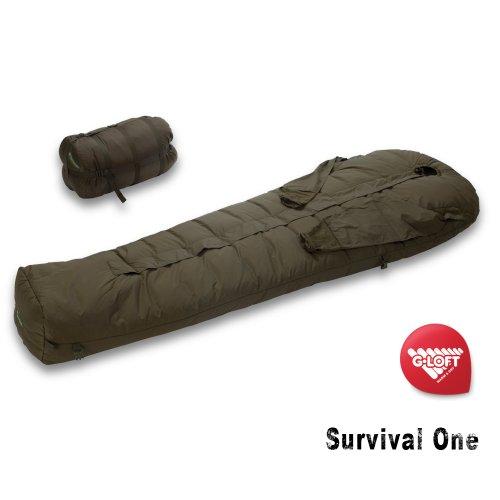 Carinthia one survival votre armée sac de couchage hiver avec armausgriffe -25 °c