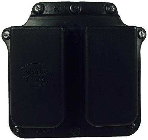Fobus Roto Belt 4500RB Double Mag Pouch Single Stack .45 by Fobus -