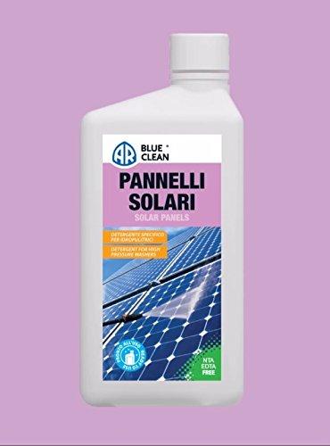 Limpiador para idropulitrici listo al uso para paneles solares.