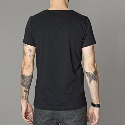 SUIT Herren T-Shirt Noos Anton-q1166 Schwarz (Black 1000)