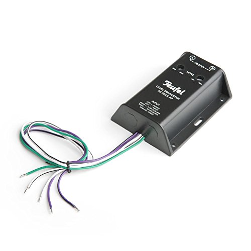 Teufel Level Converter AC 5011 AP - Konvertiert Lautsprecher-Hochpegel-Signale in das Cinch-Format