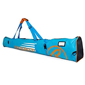Brubaker Skitasche Carver Champion gepolsterter Skisack für 1 Paar Ski und Stöcke 170 cm oder 190 cm