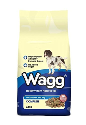 Wagg Complete Dog Food, Beef, 2.5 Kg, Pack of 4