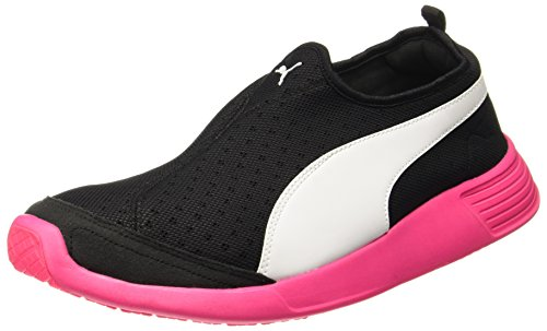 Puma-Mens-St-Trainer-Evo-Slip-On-Dp-Black-Knockout-Pink-Multisport-Training-Shoes