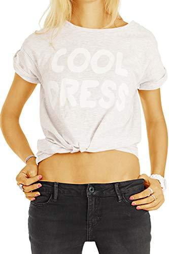 bestyledberlin Superstretch Bootcut Jeans Hose - Damen Schlagjeans in lockerer Loose Fit Passform - j04m 34/XS -