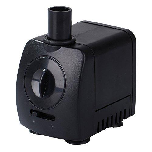 Maxesla Mini Bomba Agua Ultra Silencioso 120 GPH 550L/H