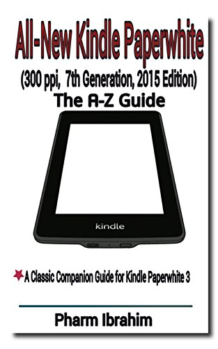 All-New Kindle Paperwhite (300 ppi, 7th Generation, 2015 Edition ...
