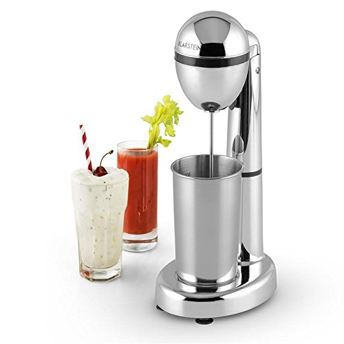 Klarstein van Damme Mezclador de bebidas - Batidor de smoothies, batidos, cremas y cócteles, Vaso mezclador...