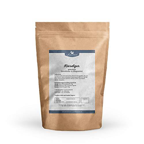 Krauterie Kieselgur in sehr Hochwertiger Qualität, frei von jeglichen Zusätzen, für Pferde, Hunde oder Katzen – 250 g