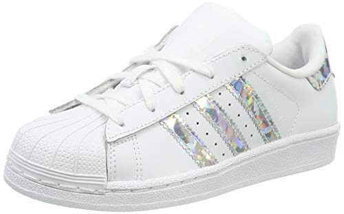 adidas Superstar C, Basket Mode Fille-Blanc (Blanco...