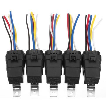 Generic Automotive Relay Switch Harness 12AWG Wires Waterproof