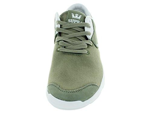 Supranoiz - Sneaker Unisexe Adulteo Laurel Chêne - Blanc