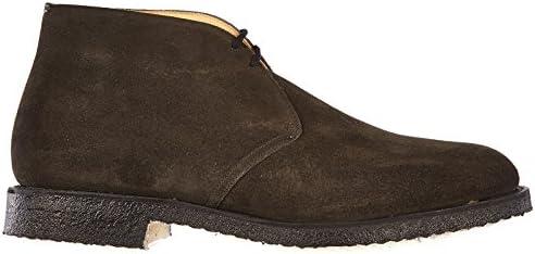 Church's Botines Zapatos en Ante Hombres Nuevo Ryder Gris