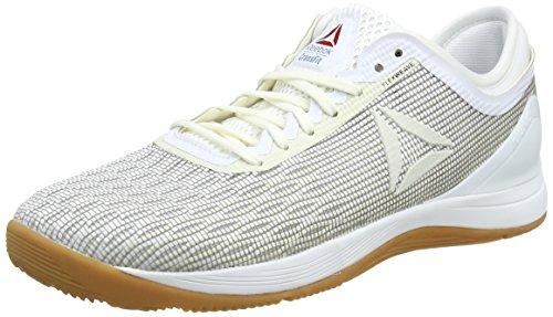 6af31a16d Reebok R Crossfit Nano 8.0, Zapatillas de Deporte para Mujer, Blanco  Classic White/